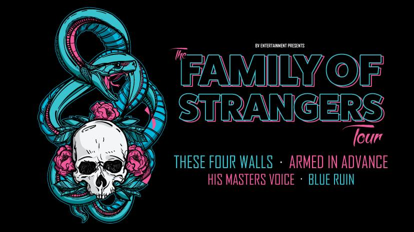 Family Of Strangers: These Four Walls, Armed In Advance, His Masters Voice