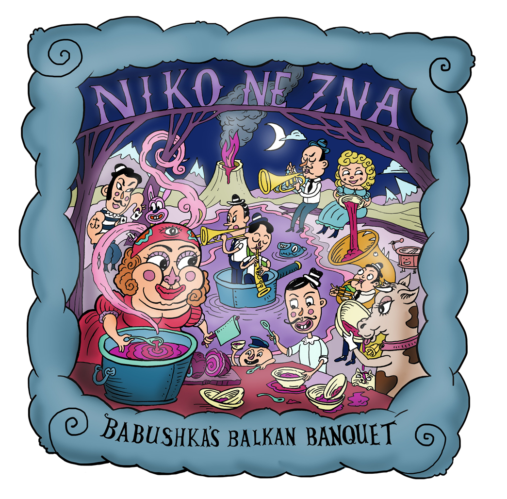 Niko Ne Zna - Babushkas Balkan Banquet Album Launch