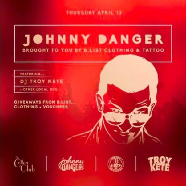 Johnny Danger Ft DJs Troy Kete And Infared