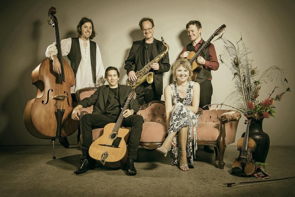 Wellington Jazz Festival:  La Luna (Caro Manins) and The Gadjos