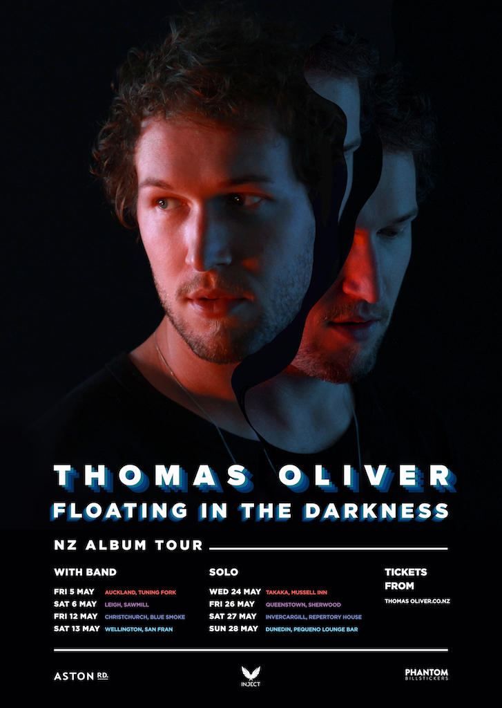 Thomas Oliver - NZ Album Tour