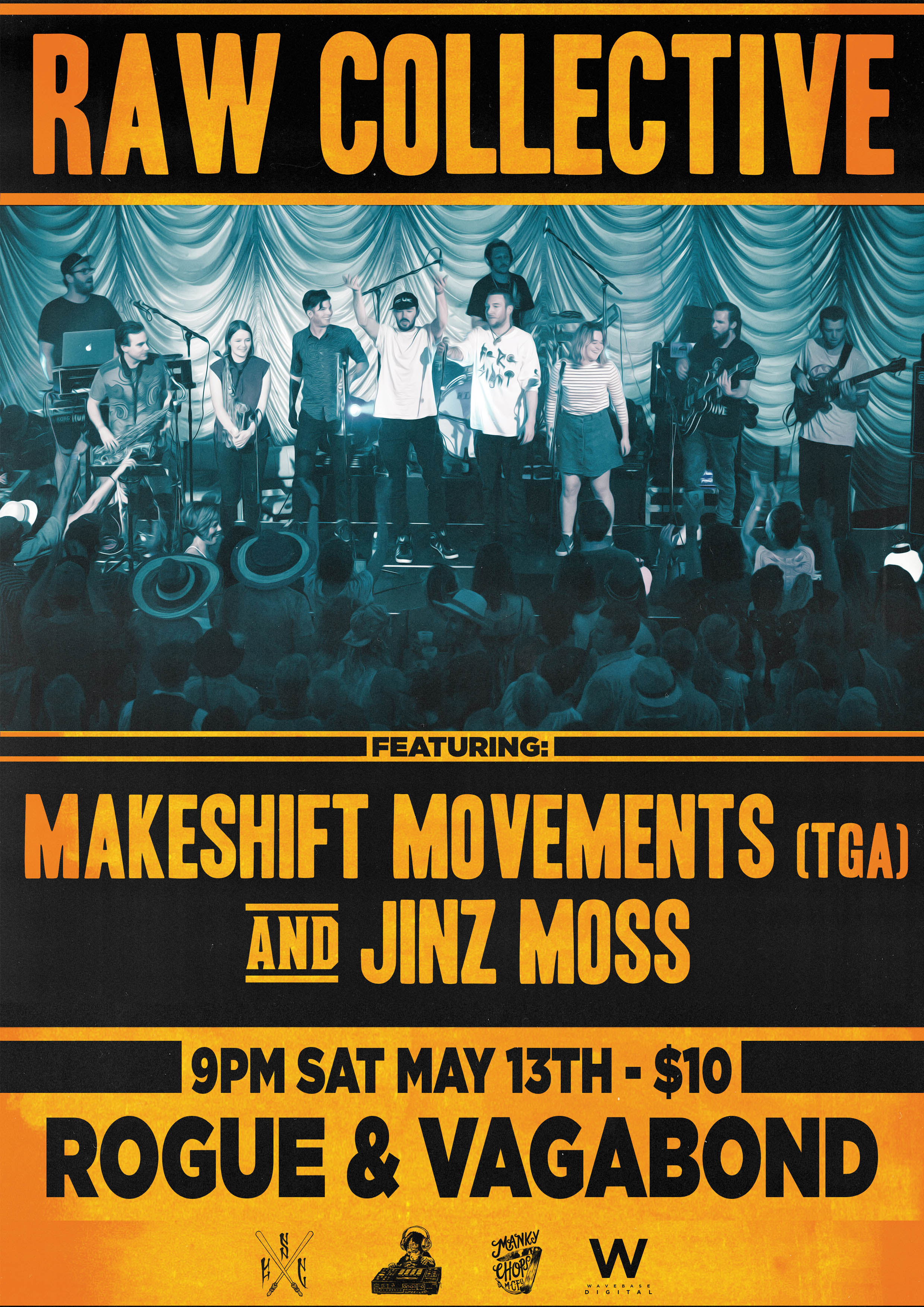 Raw Collective With Makeshift Movements And Jinz Moss