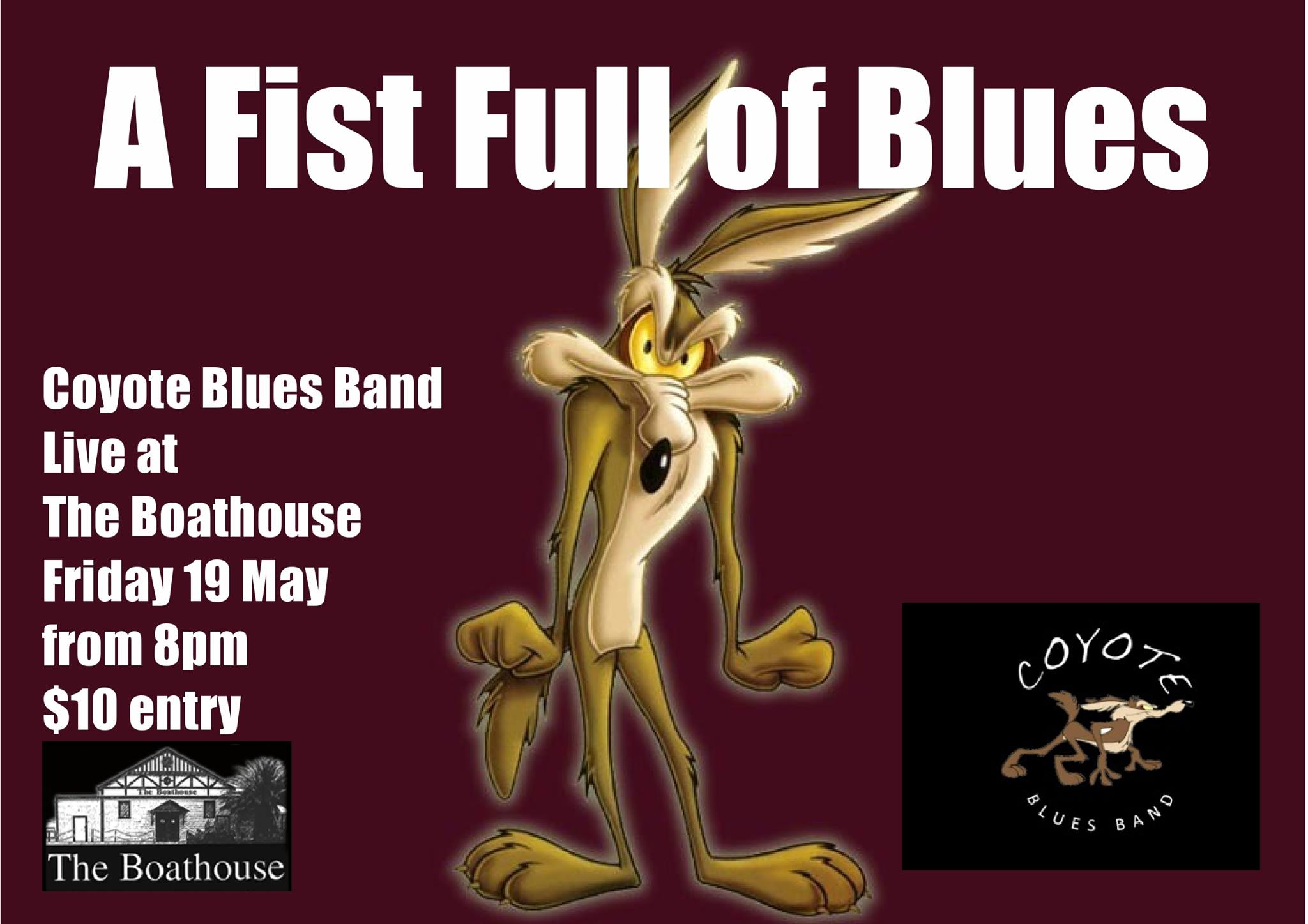 A Fistful Of Blues With Coyote Blues