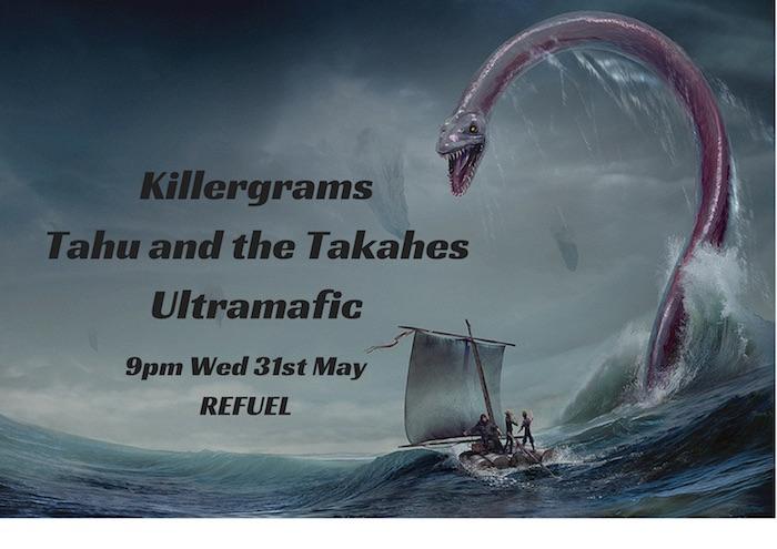 Killergrams, Ultramafic, Tahu And The Takahes