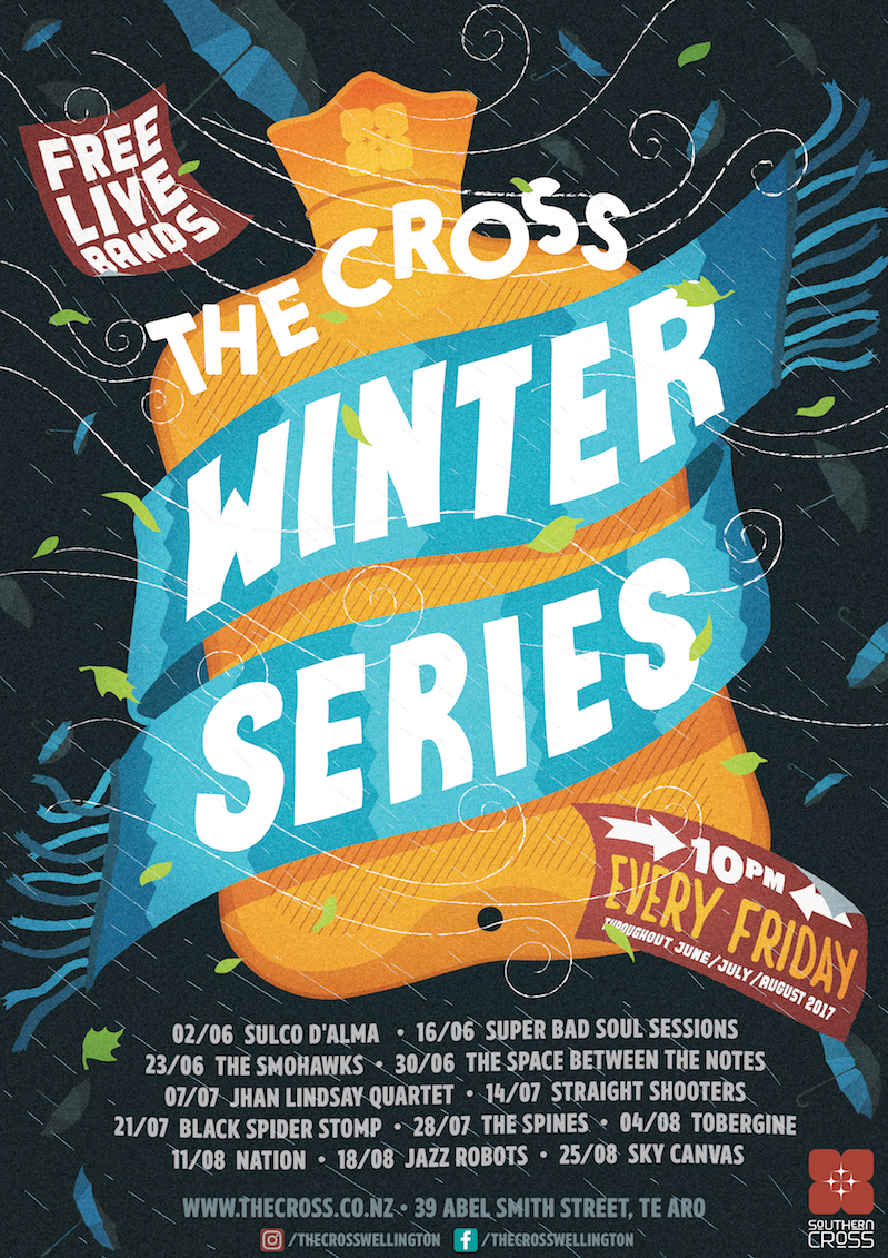 The Cross Winter Series with The Space Between The Notes