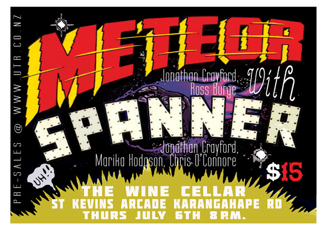 Jonathan Crayford's Meteor and Spanner Double Show
