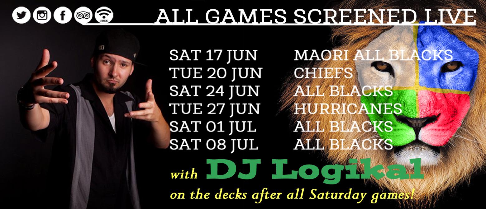 DJ Logikal Vs The Lions