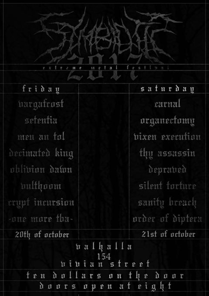 Symbiotic Death Fest - Day 1