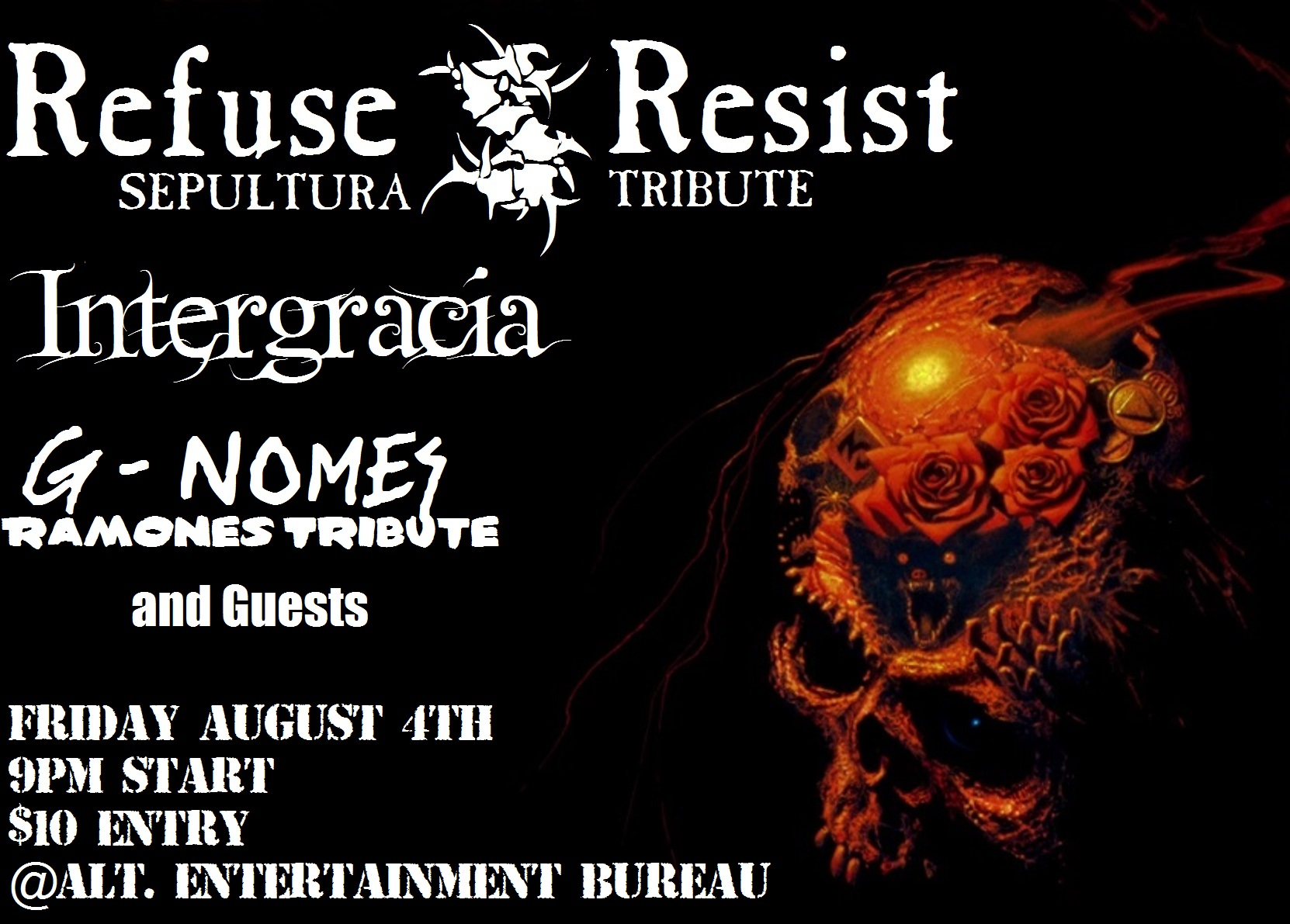Refuse/Resist, Intergracia, Deadset and G-Nomes