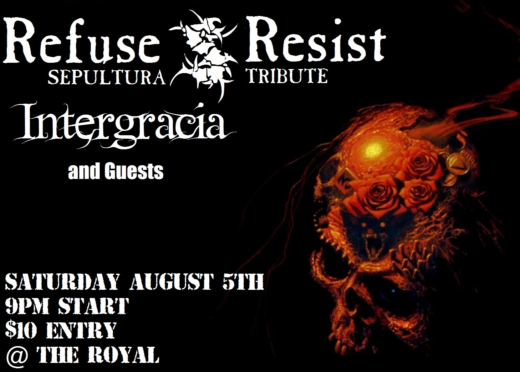 Refuse/Resist, Intergracia And Deadset