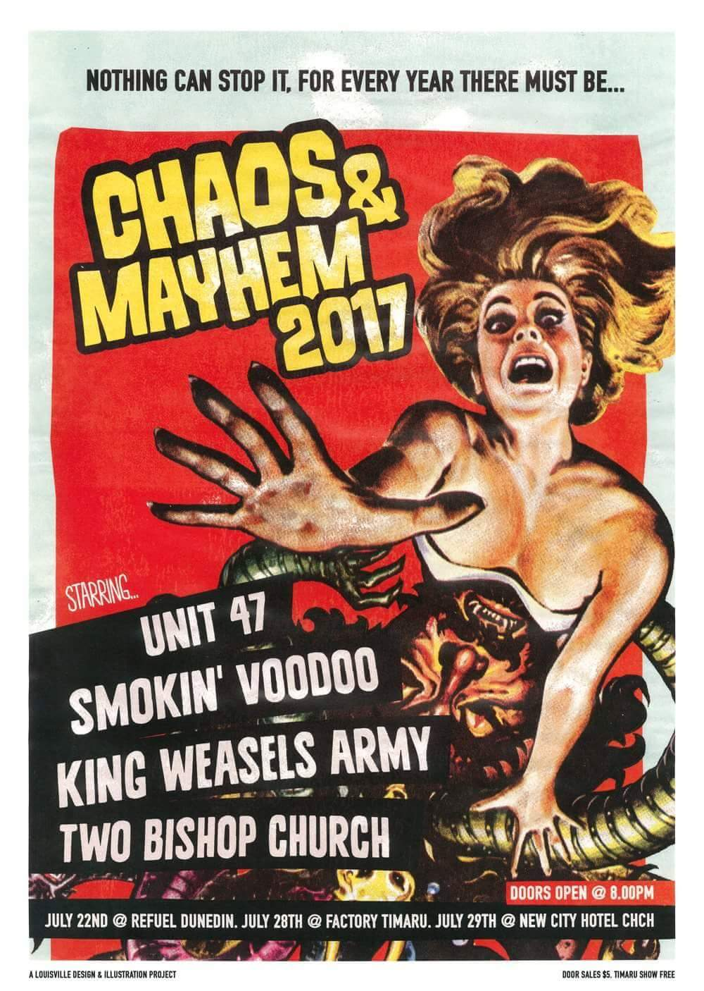 Unit 47 Smokin' Voodoo Choas And Mayhem Tour