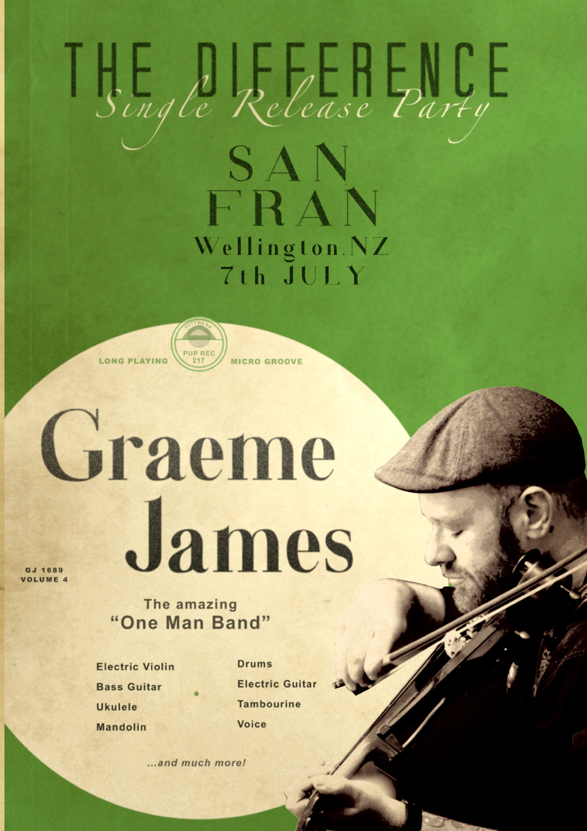 Graeme James - The Difference Single Release Party