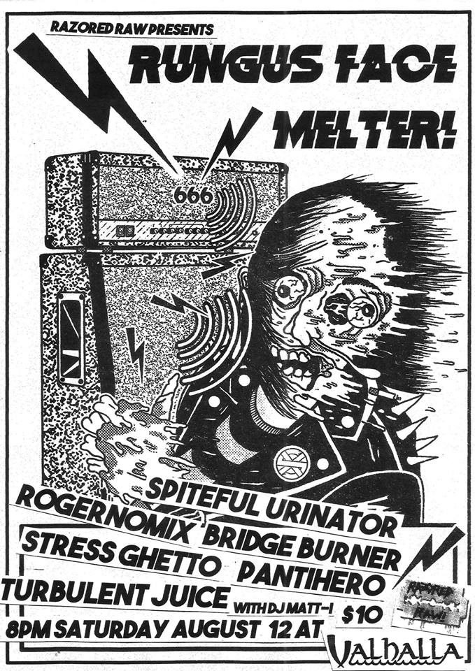 Rungus Face Melter With Spiteful Urinator, Rogernomix and More