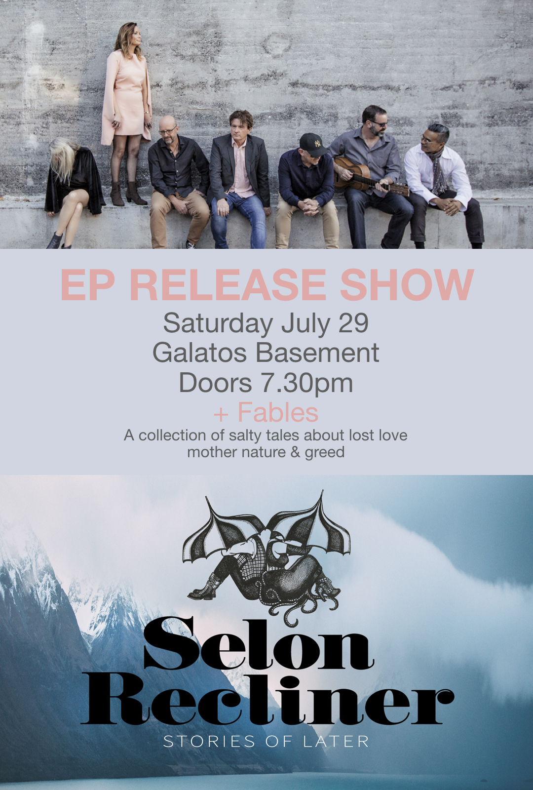 Selon Recliner -  Stories Of Later EP Release