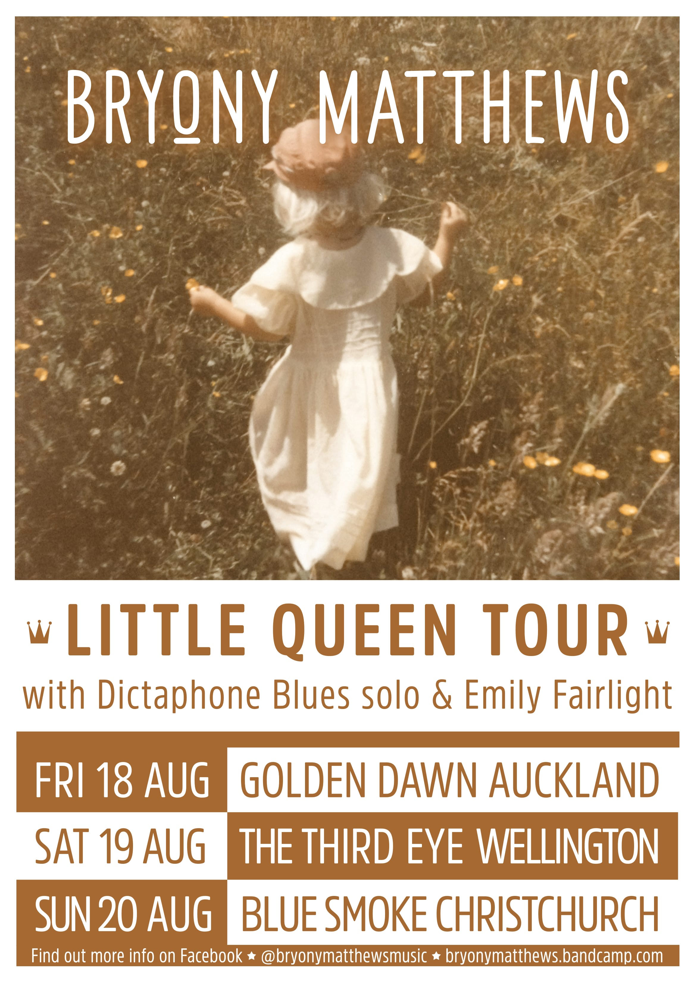 Bryony Matthews Little Queen Tour