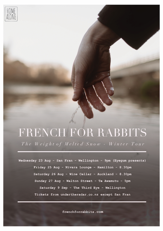 French For Rabbits - It Will Be Okay Tour