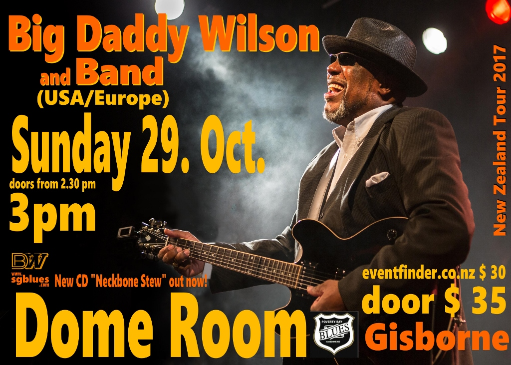 Big Daddy Wilson with Band