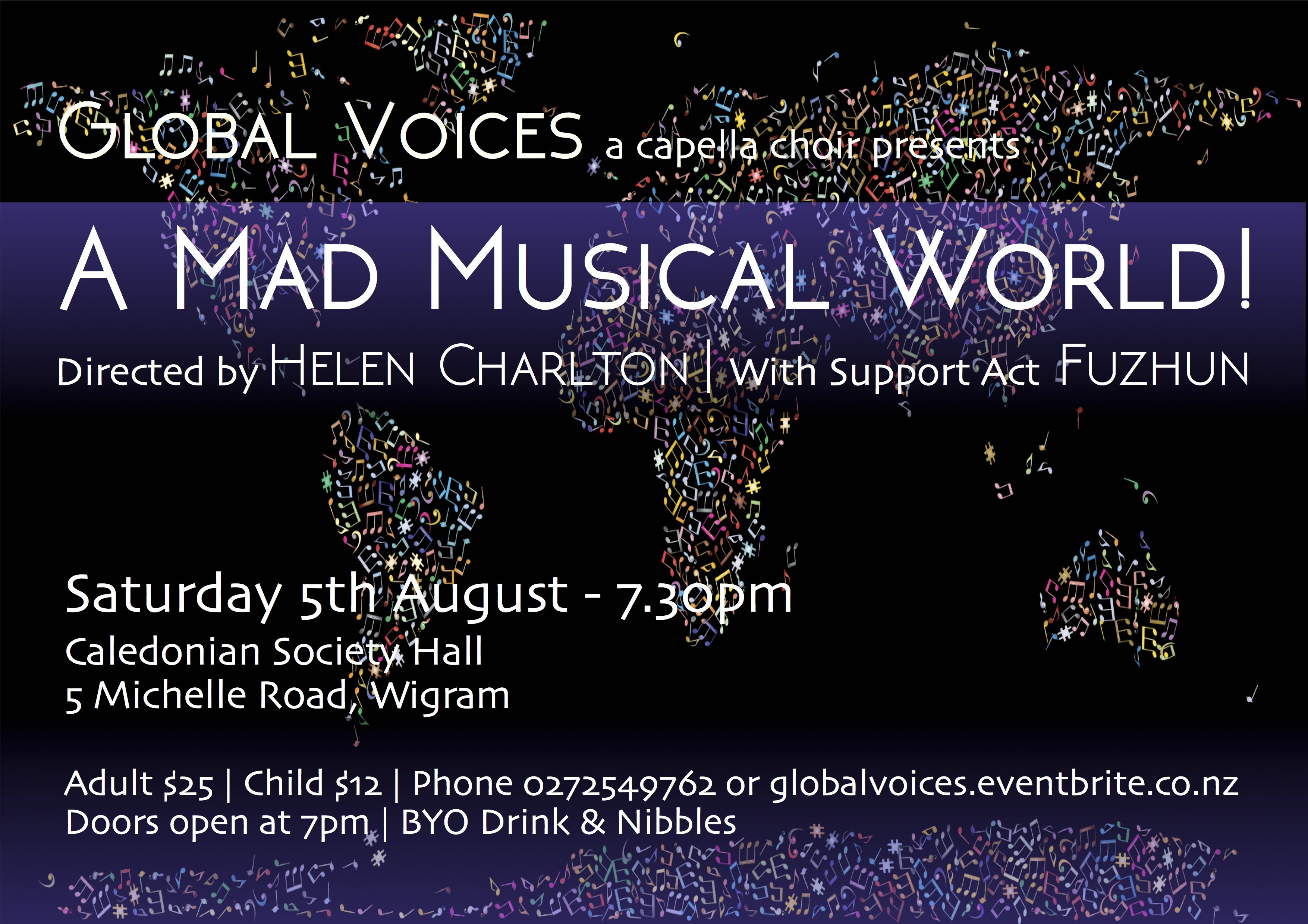 Global Voices Presents: A Mad Musical World