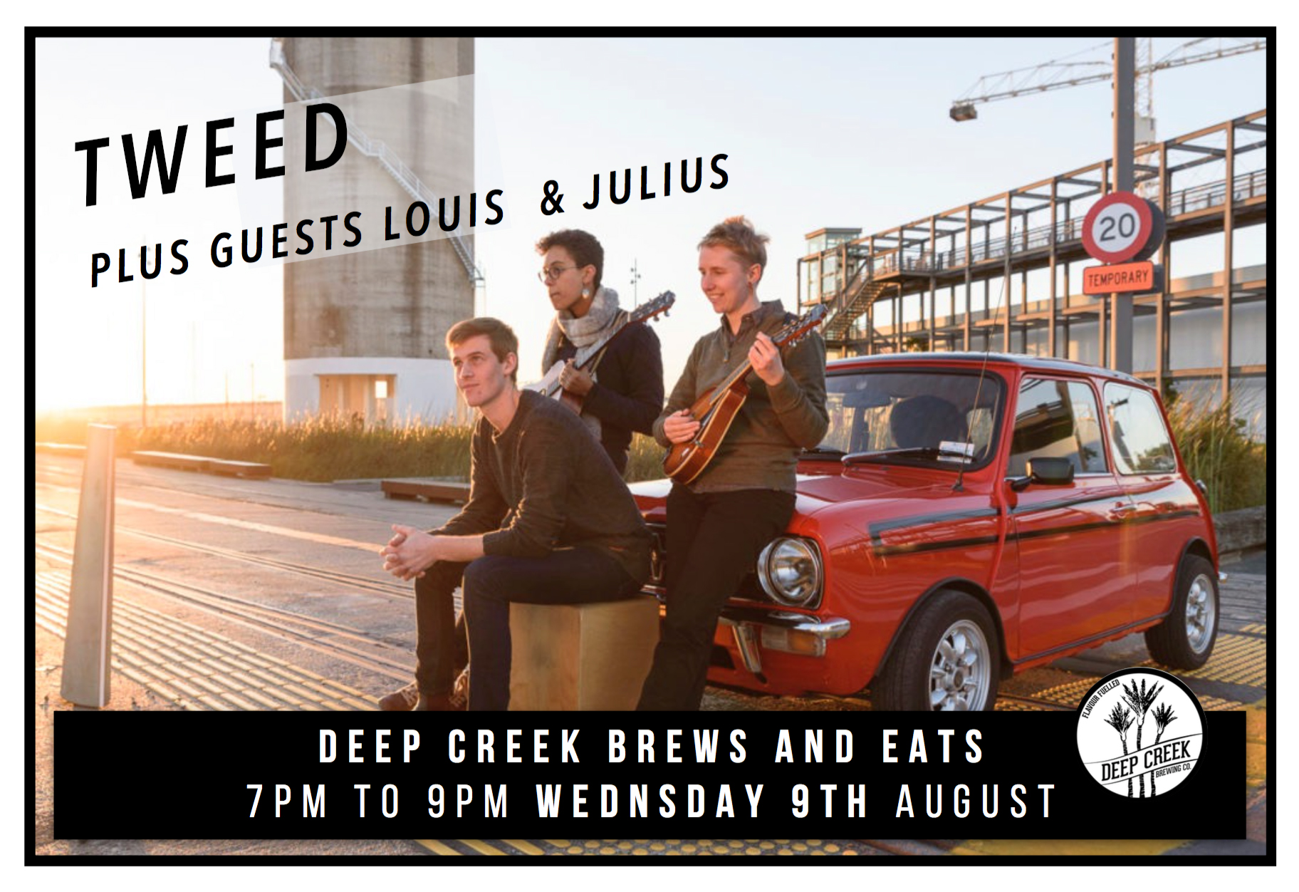 Tweed With Louis And Julius