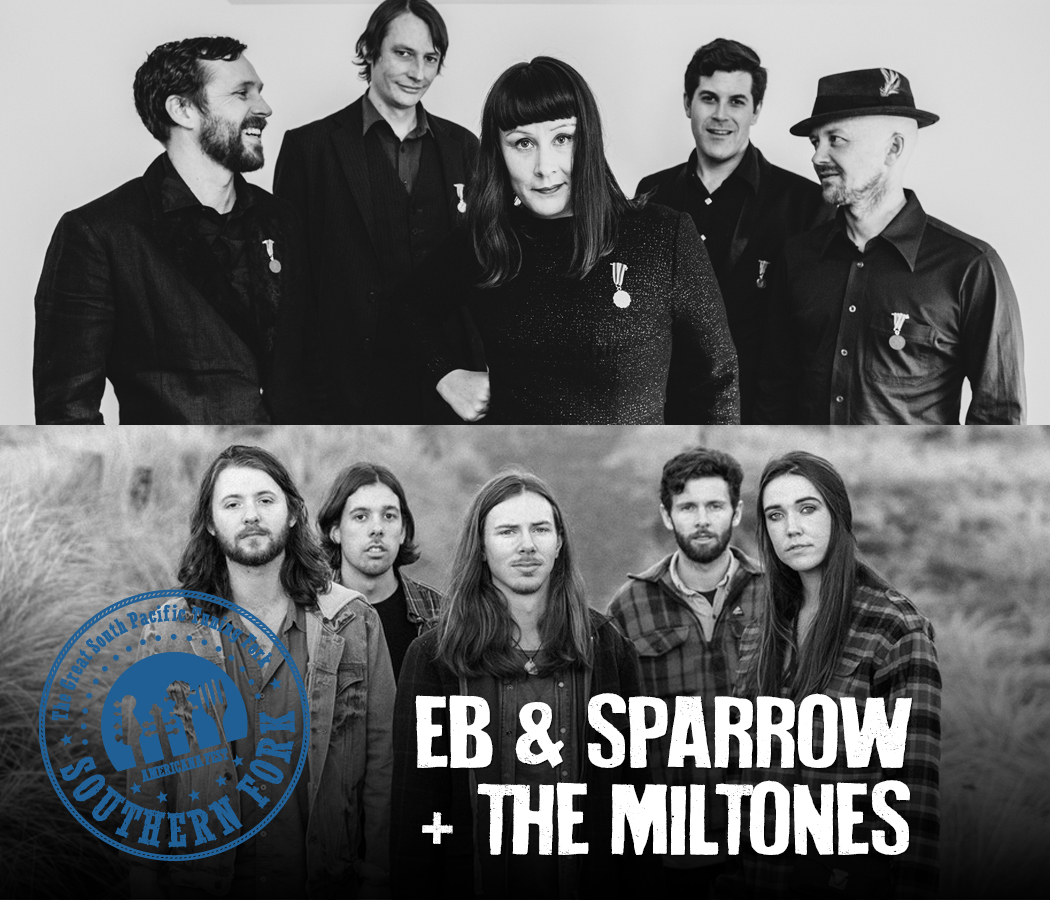 Southern Fork Americana Fest: Eb and Sparrow with The Miltones