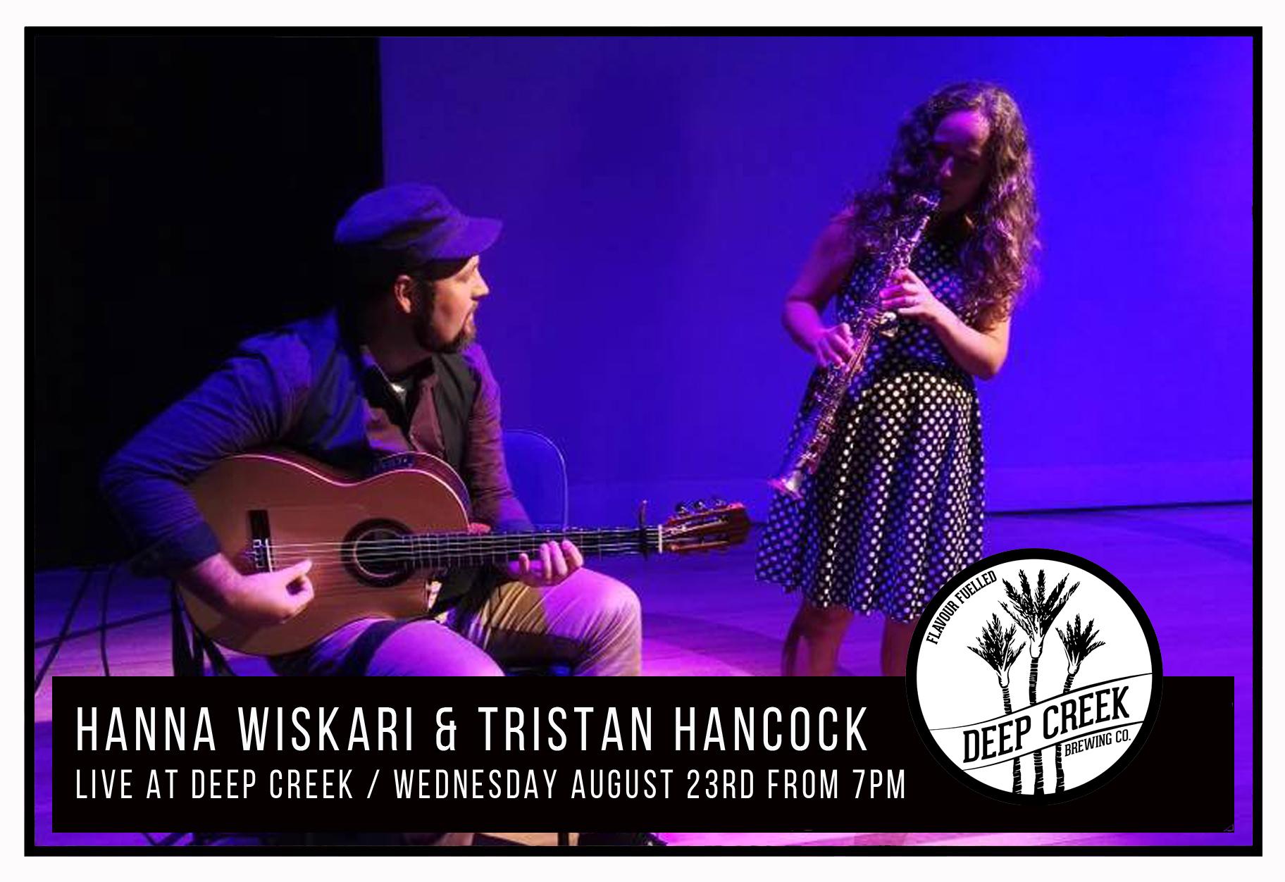 Hanna Wiskari And Tristan Hancock
