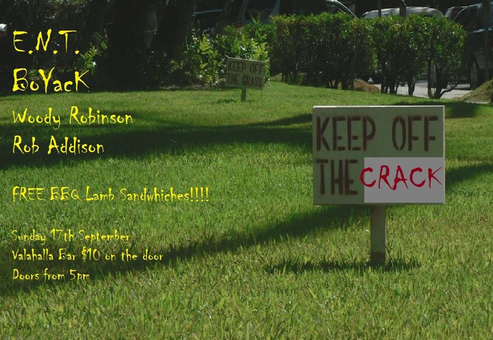 Keep Off The Crack