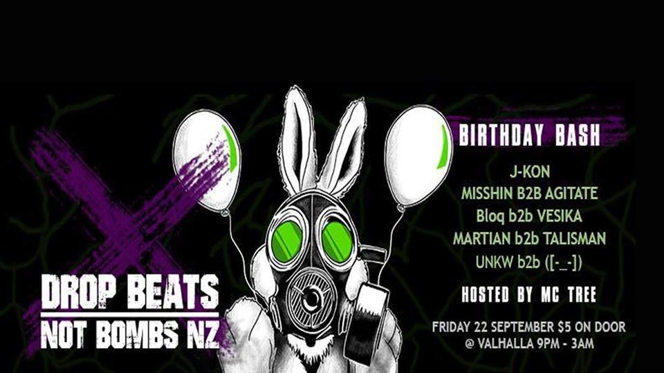 Drop Beats Birthday Bash