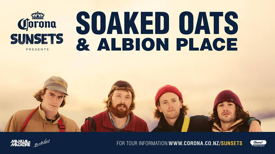 Corona Sunsets Presents Soaked Oats And Albion Place