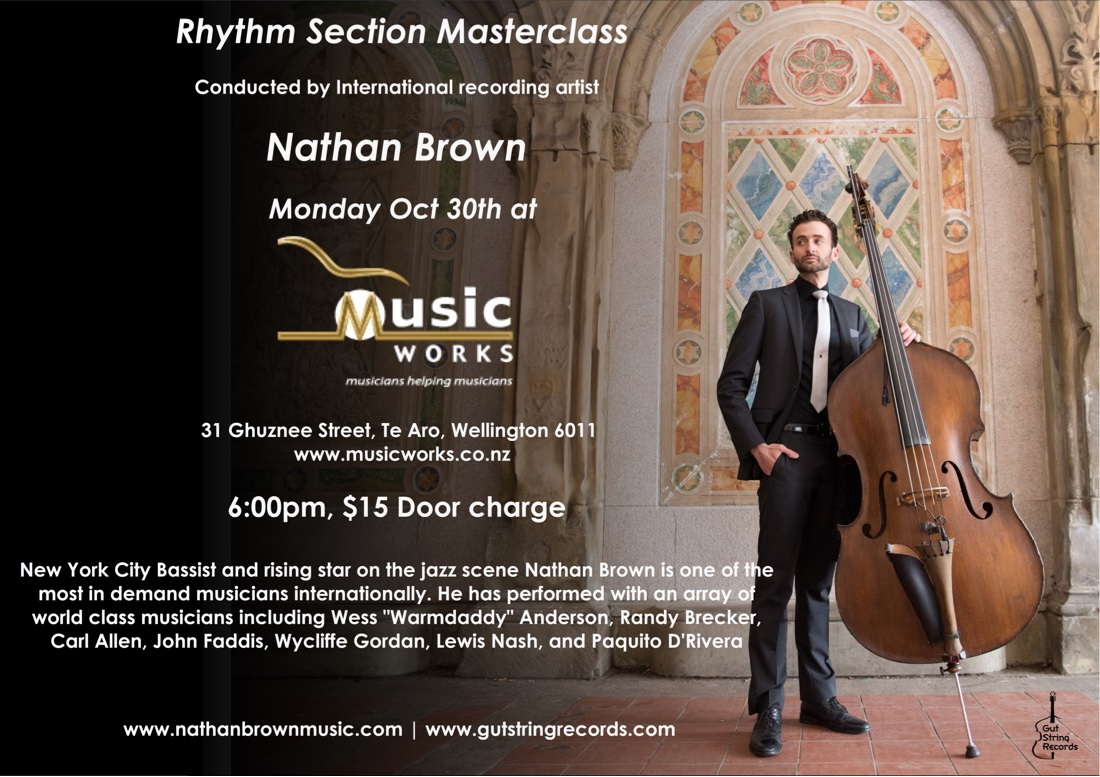 Nathan Brown - Rhythm Section Masterclass