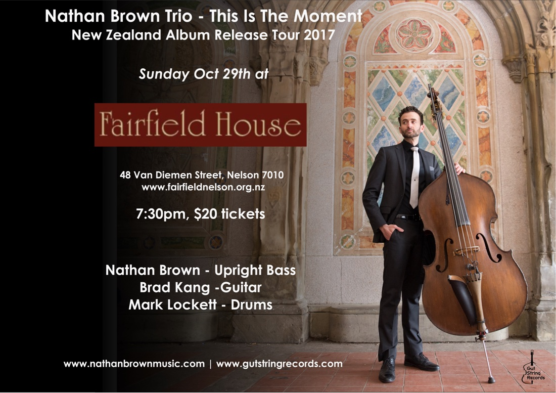 Nathan Brown Trio - This Is The Moment Album Release Show