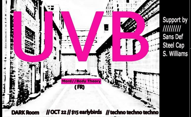 UVB - Alleyway Rave