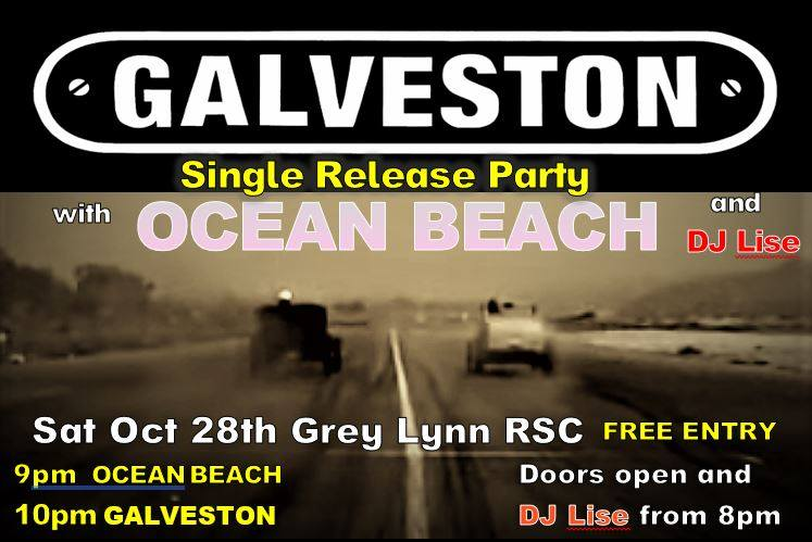 Galveston single release party, with Ocean Beach