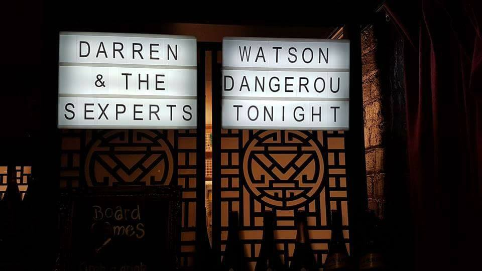 Darren Watson and The Dangerous Experts