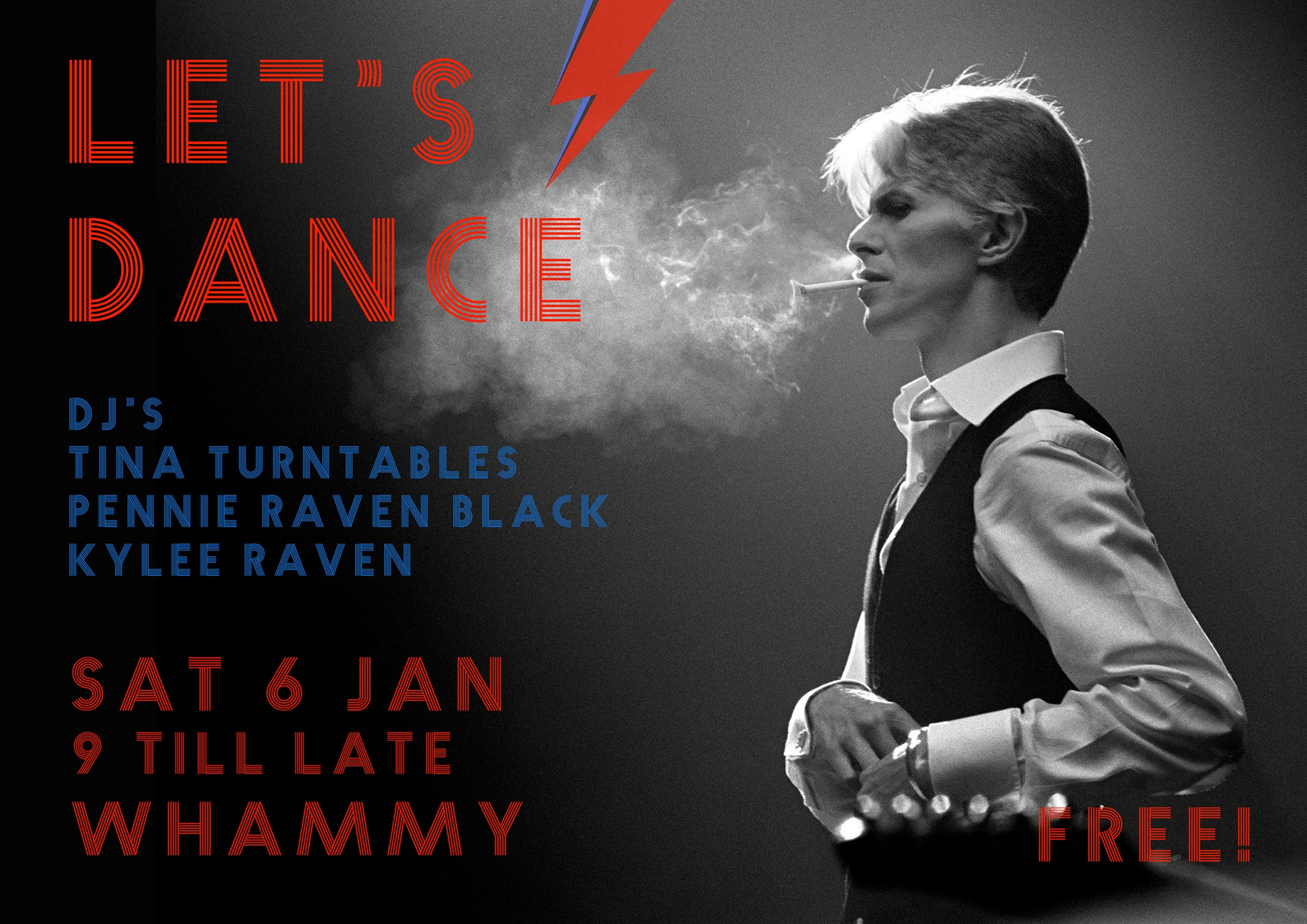 Lets Dance - Bowies Birthday Bash