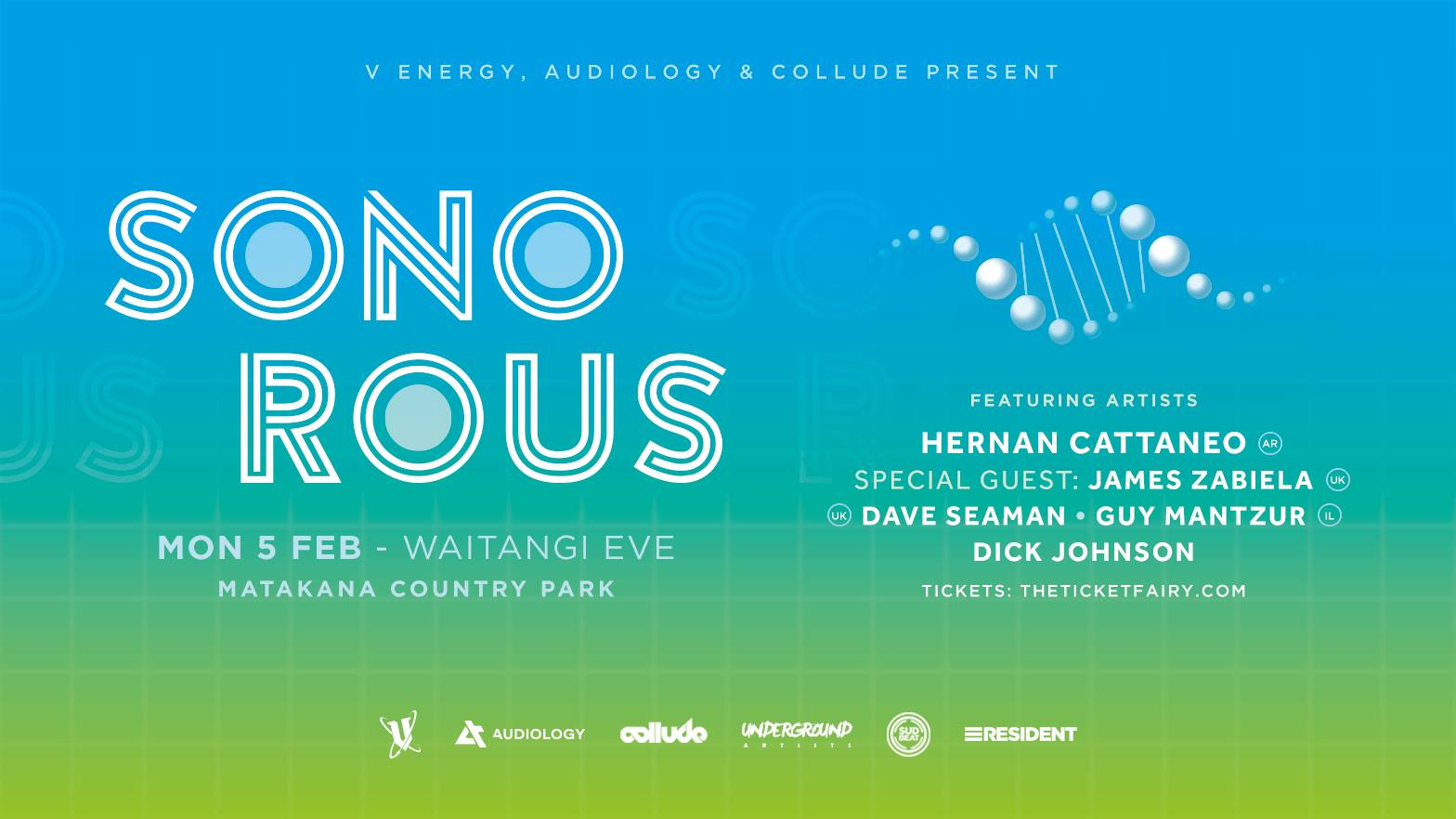 Sonorous Festival - Hernan Cattaneo, James Zabiela and More