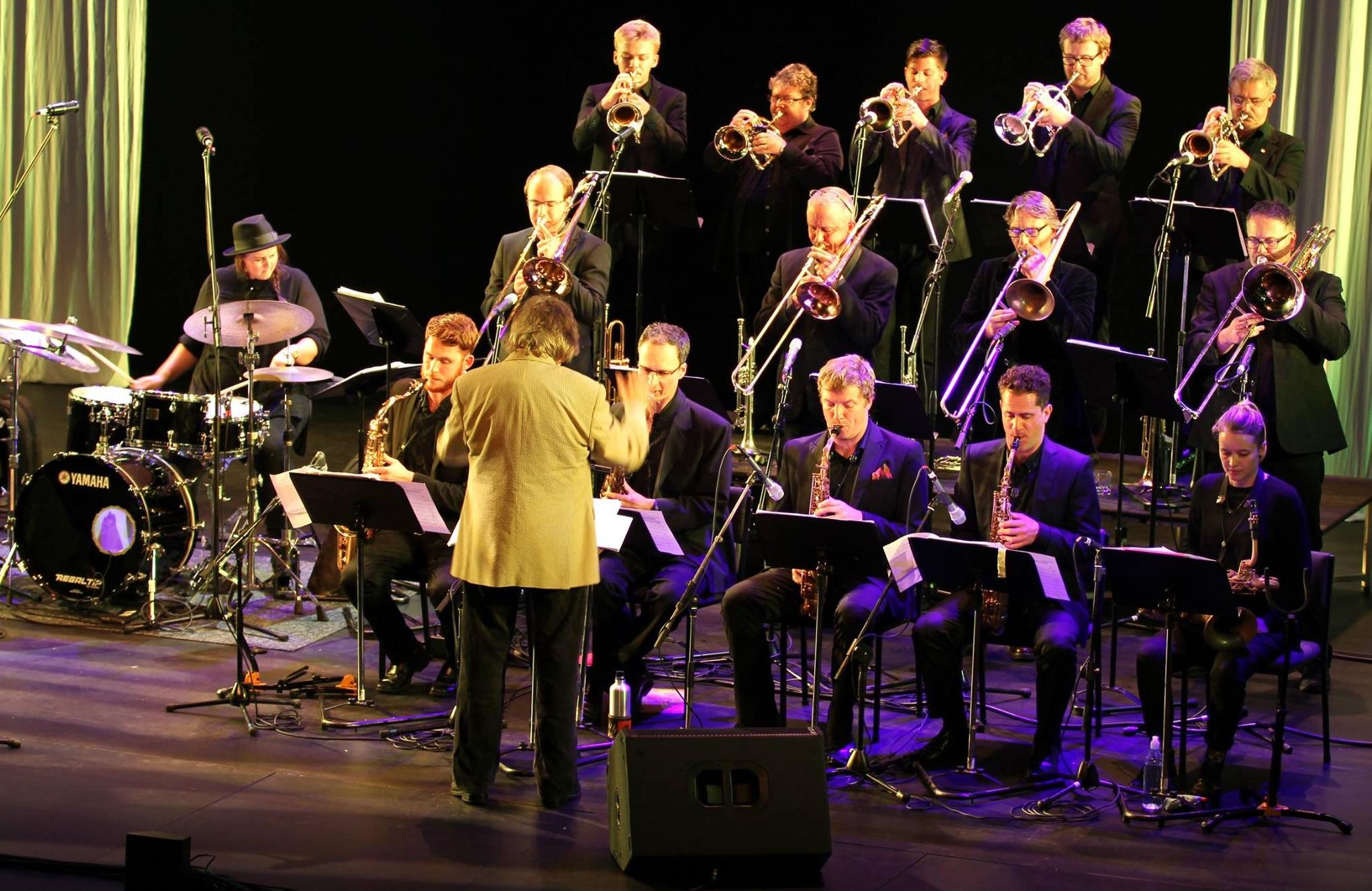 Rodger Fox and The Victoria University Big Band
