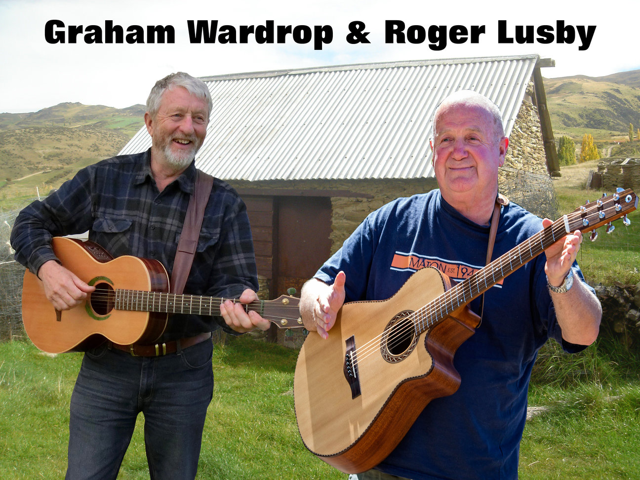 Graham Wardrop and Roger Lusby