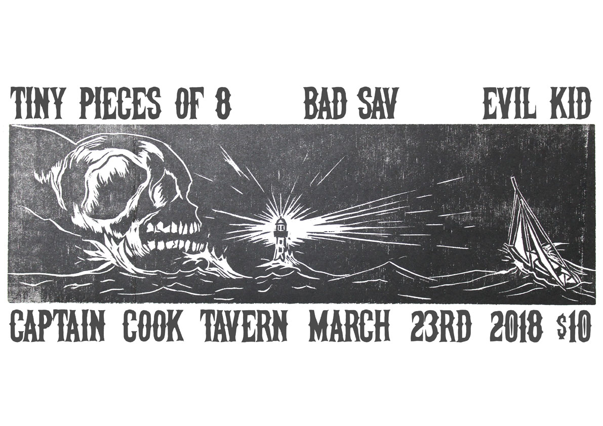 Tiny Pieces Of Eight, Bad Sav, Evil Kid