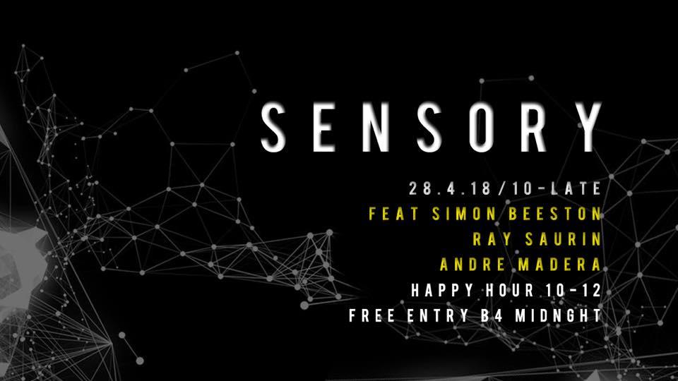 Sensory - Ray Saurin, Simone Beeston, Andre Madera