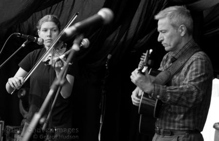 Tessa White and Jonathan Le Cocq
