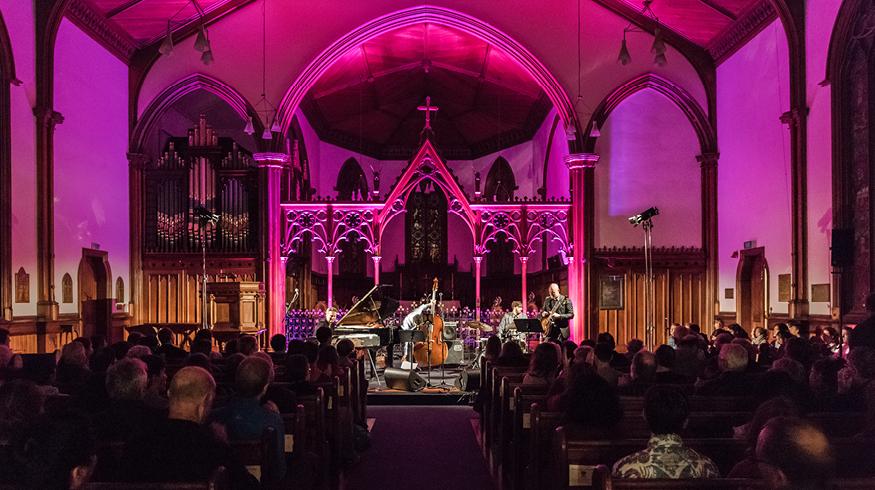 2018 Wellington Jazz Festival - Barney Mcall and Bella Kalolo