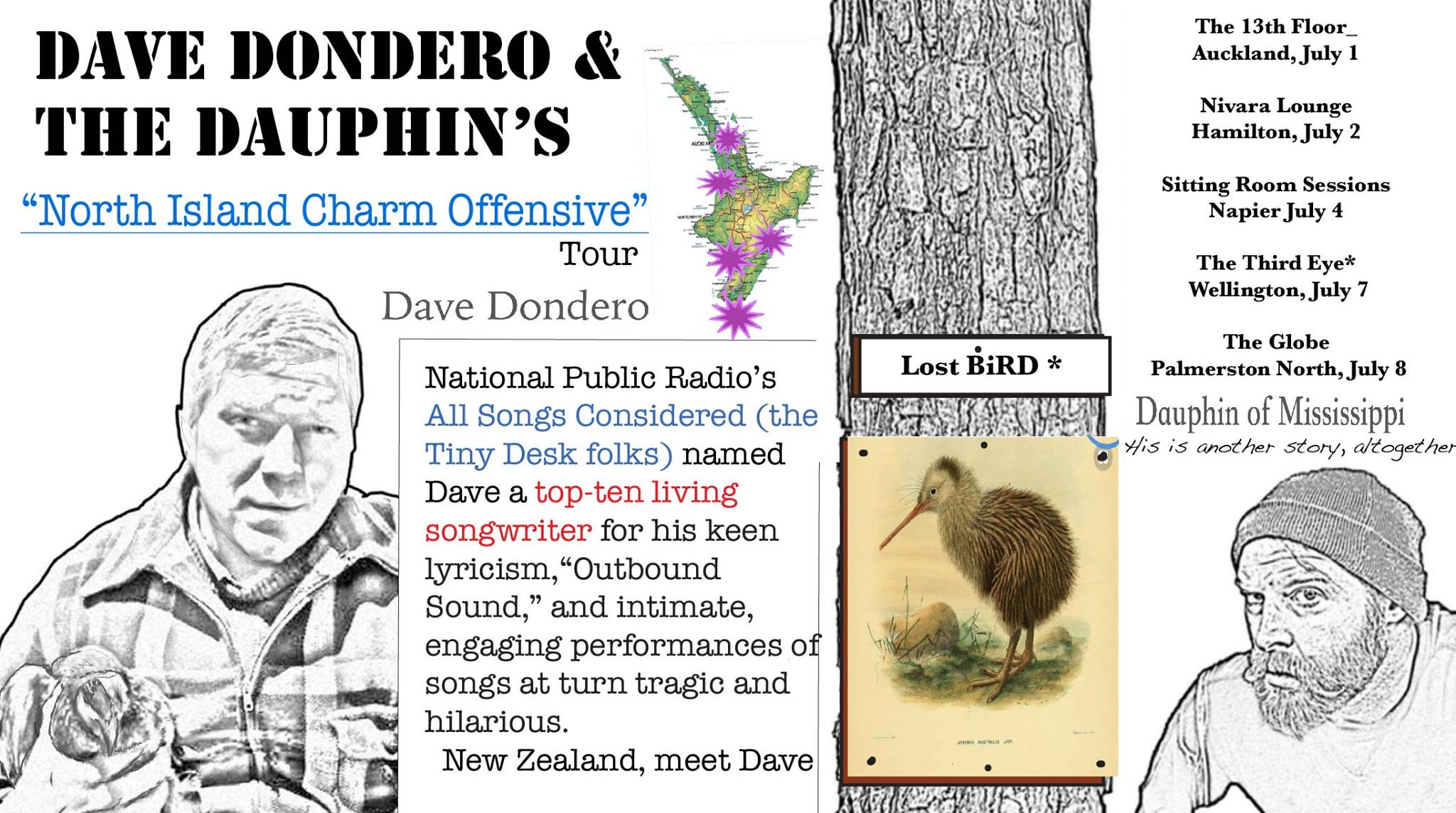 Dave Dondero and The Dauphins