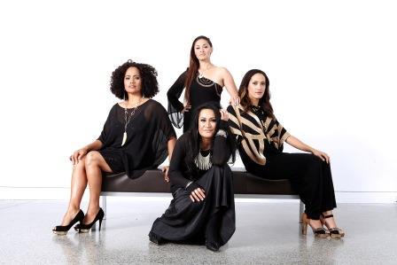Annie Crummer, Betty-Anne Monga, Maisey Rika, Ria Hall