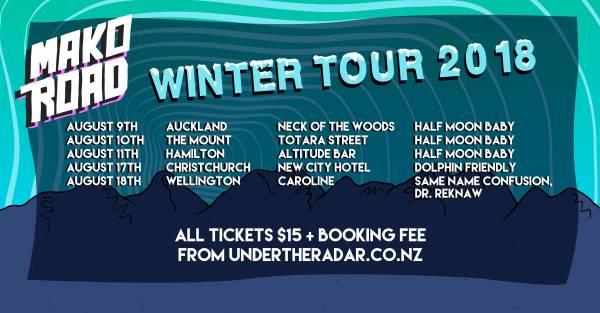 Mako Road - Winter 2018 Tour
