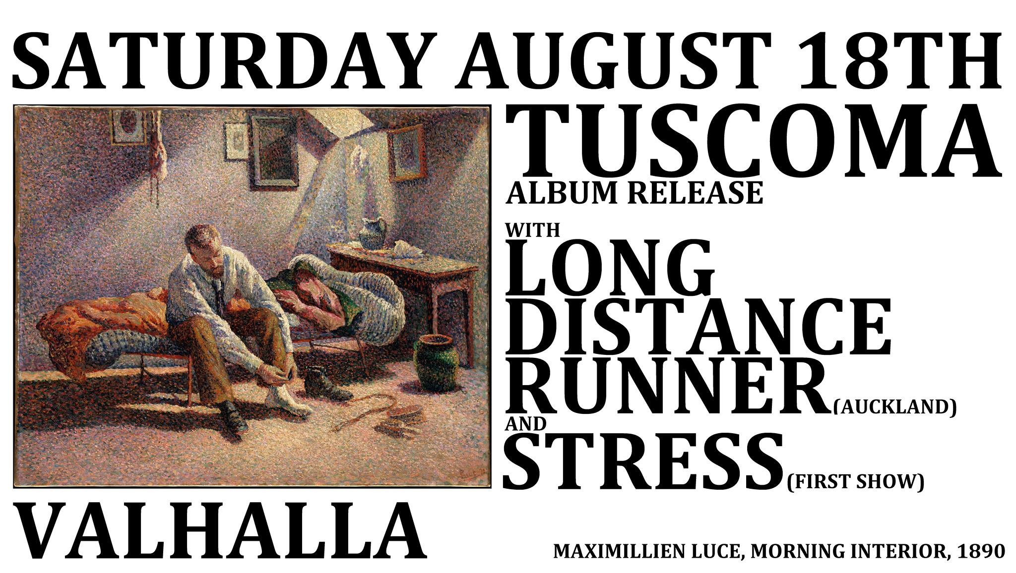 Tuscoma, Long Distance Runner, Stress