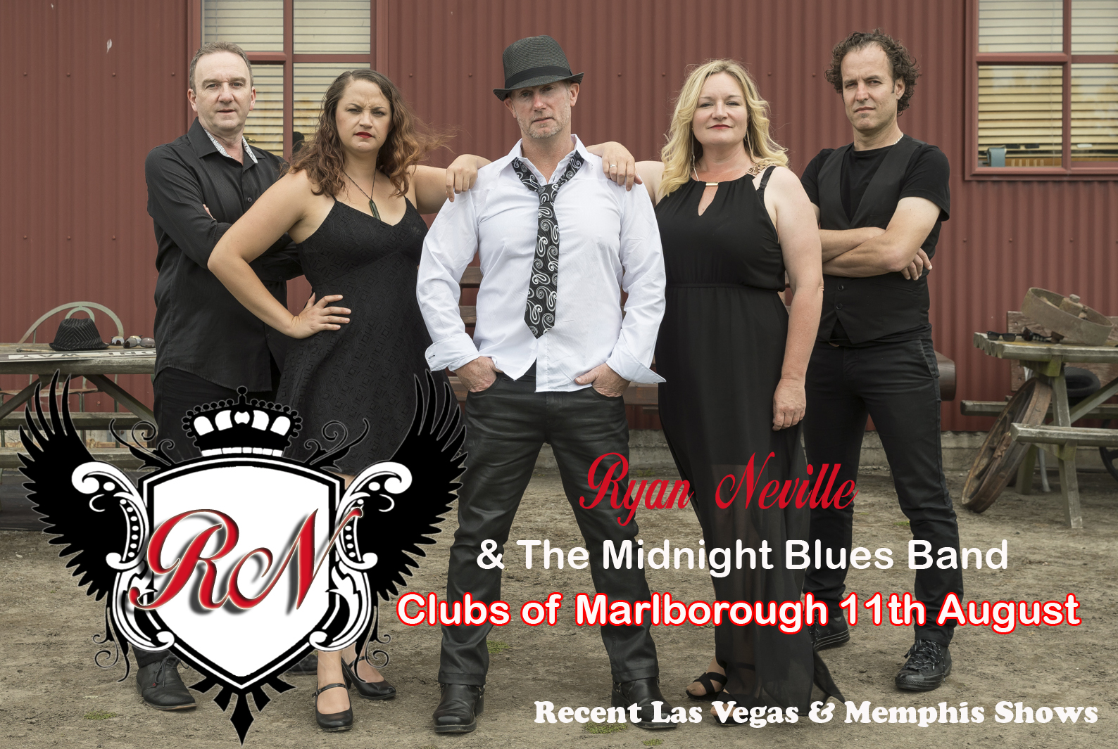 Ryan Neville And The Midnight Blues Band