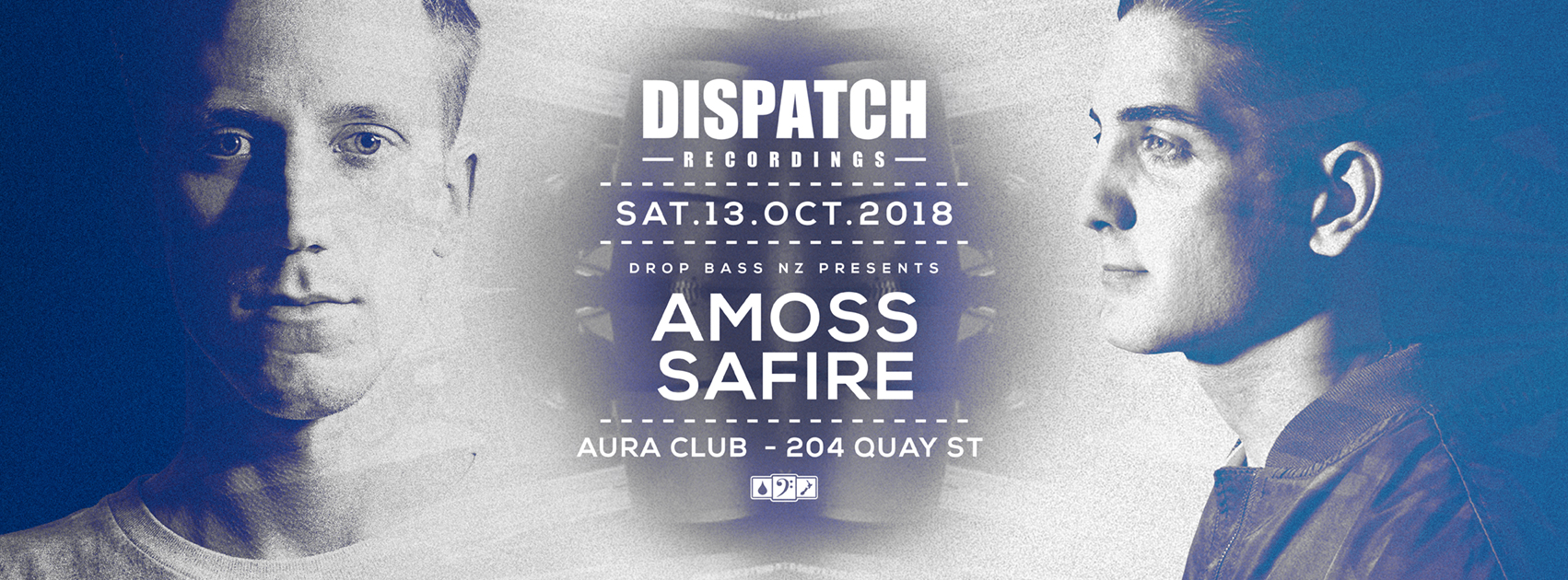 Dispatch Recordings AKL  Ft Amoss UK and Safire AU