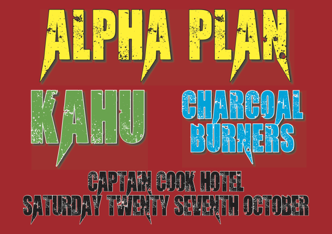 Alpha Plan, Kahu and Charcoal Burners