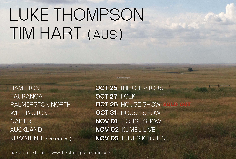 Luke Thompson, Tim Hart