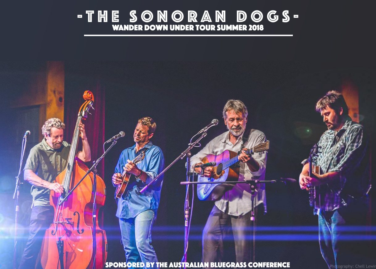 The Sonoran Dogs - Wander Down Under Tour